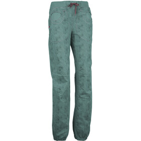 E9 Mix Wave Trousers Women, sage green